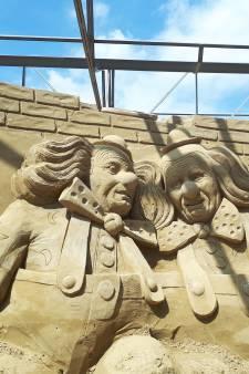 Laatste keer Zandsculpturenfestival Oss