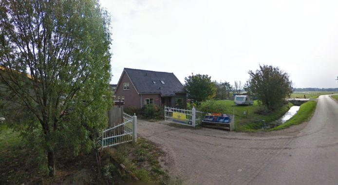 De locatie van boerencamping Amara Hoeve