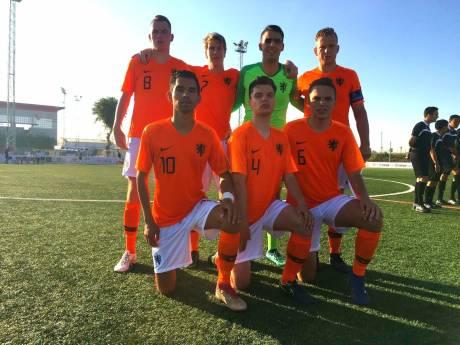 Voetballer Harm Panneman uit Randwijk staat in de kwartfinale met Oranje CP in Spanje