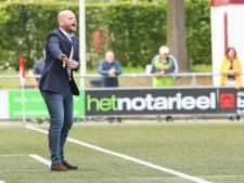 Ook zonder competitiewedstrijden is het een leerzaam seizoen voor Excelsior'31-trainer Wouda