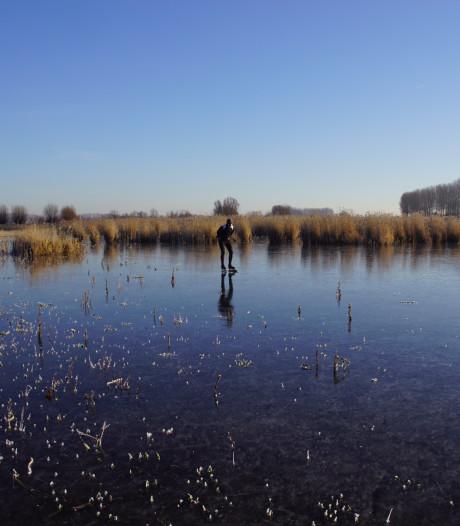 Ook in Zeeland gebeurt het al: schaatsen op natuurijs