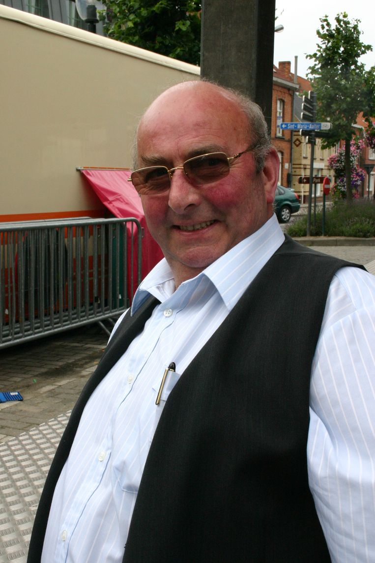 André Wyckstandt, de organisator van de Oogstfeesten.