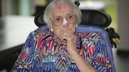 Rachel Neyt (108) is oudste inwoner van West-Vlaanderen
