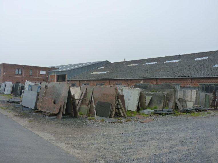 Het natuursteenbedrijf werd opgeschrikt door een arbeidsongeval.