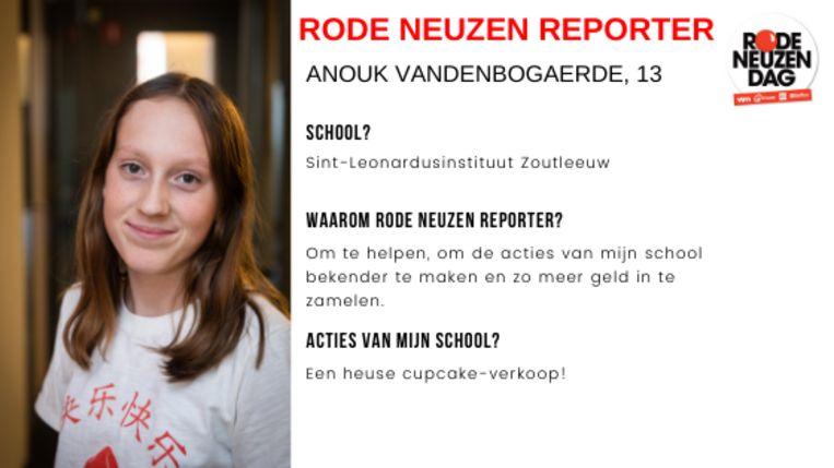 Dit verslag werd geschreven door Rode Neuzenreporter Anouk.