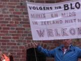 Protest tegen aanleg vakantiehuisjes: Schandalig dat dit kan