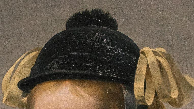 Caesar van Everdingen - Portret van een tweejarige jongen Beeld null