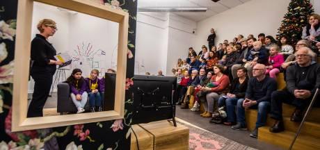Kinderen toveren Concordia in Enschede om tot een huis vol kunst