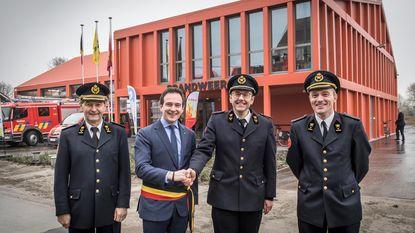 Nieuwe brandweerkazerne in gebruik genomen