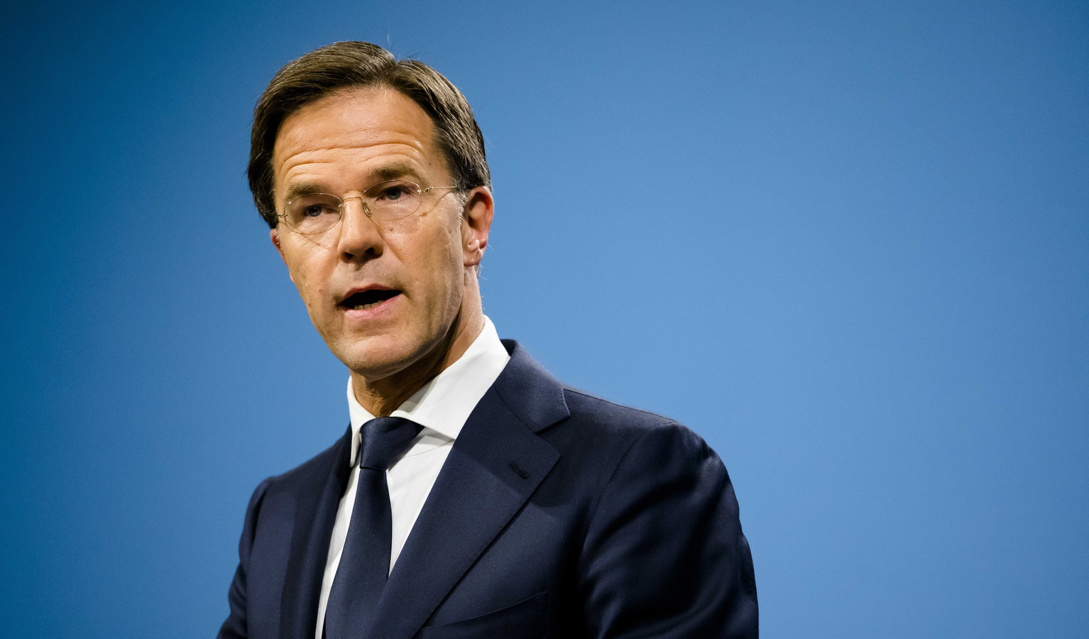 Premier Mark Rutte, afgelopen vrijdag na de ministerraad.