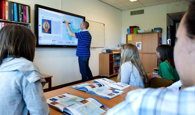 De Radboud Universiteit in Nijmegen denkt jaarlijks zo'n 50 tot 100 juffen en meesters op te leiden. Beeld ANP