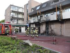 Meerdere woningen ontruimd door brand in Kruidvat Beuningen