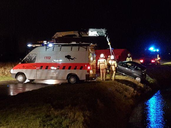 Een jonge vrouw kwam om het leven nadat ze in het kanaal reed in Nieuwpoort.