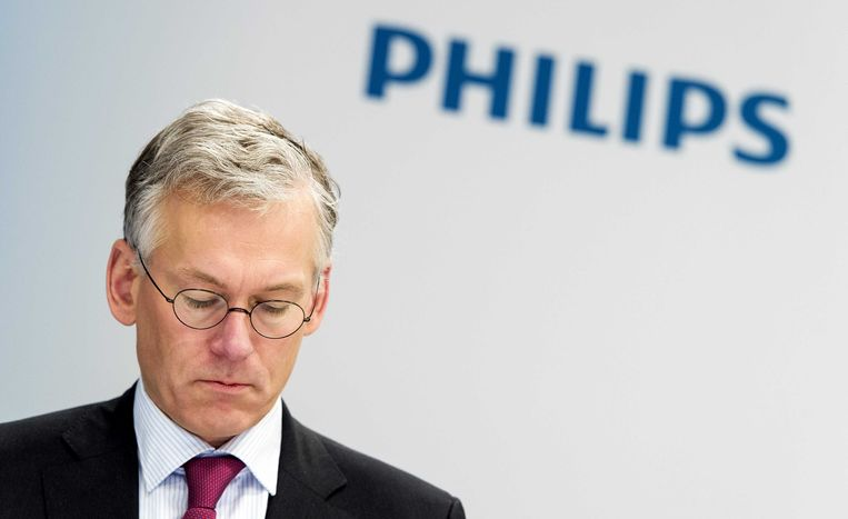 Philips-topman Frans van Houten. Beeld anp