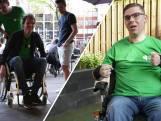 De kroeg in met een rolstoel valt niet altijd mee