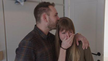 Tranen van geluk in de tweede aflevering van 'Blind Gekocht'