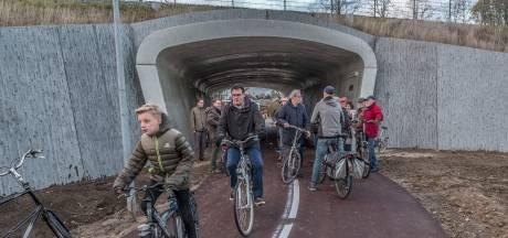 Pleidooi voor fietstunnels in Valburg en Oosterhout