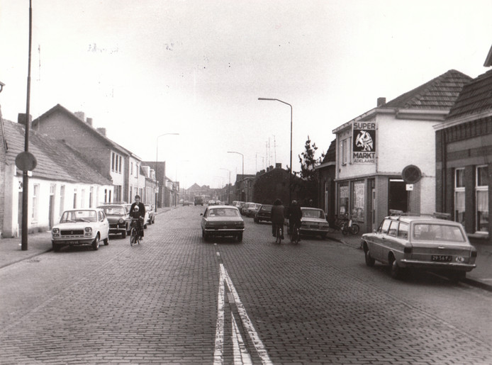 Het Bogardeind in 1975.