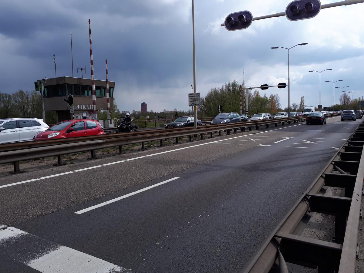 De Wantijbrug (N3) bij Dordrecht.