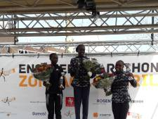 Debutant Jorritsma (22) uit Arnhem wint Enschede Marathon, parcoursrecord voor Chepkwony