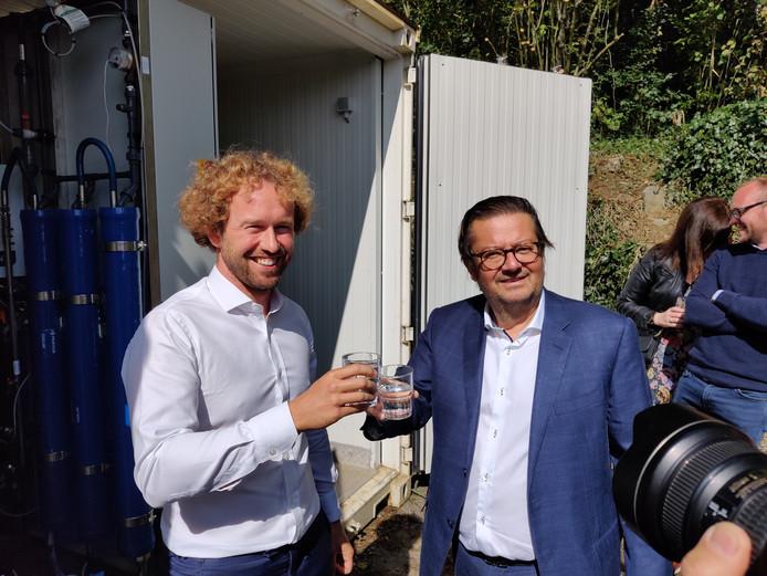 Pieter Loose et Marc Coucke