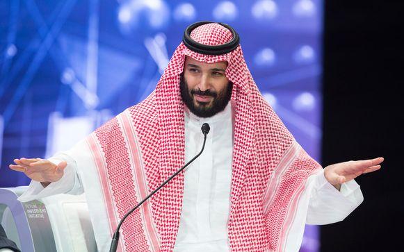 Alsof er niets aan de hand was, opende kroonprins Mohammed bin Salman deze week het investeerders-evenement in hoofdstad Riyad. Hij kreeg er een staande ovatie van de aanwezigen.