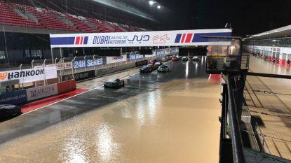 24 uur van Dubai definitief gestopt wegens slechte weer, Boonen op dat moment aan de leiding
