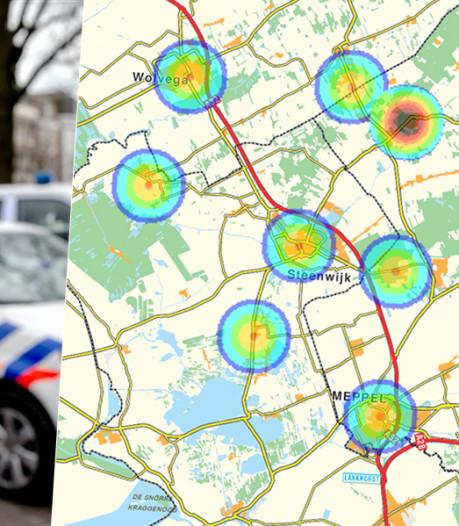 Politie waarschuwt voor inbraakgolf bij Steenwijk