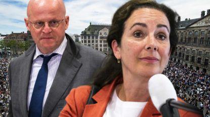 """Minister en burgemeester Amsterdam ruzieden op Whatsapp over massademonstratie: """"Wat is dit nou?"""""""