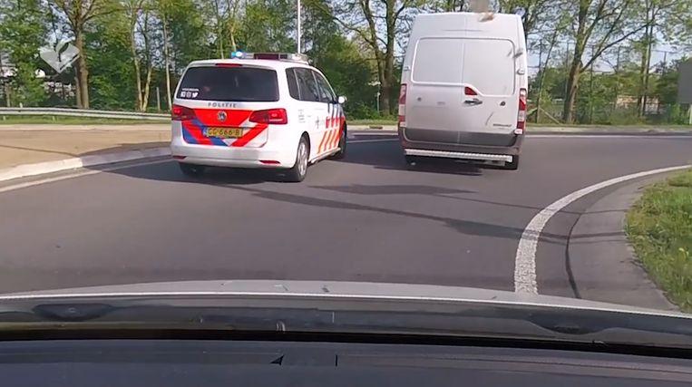 De Nederlandse en Duitse politie zit de verdachte op de hielen