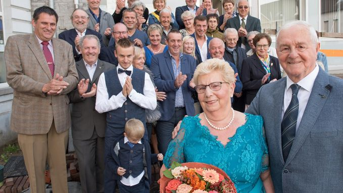 Willy en Christiane delen al 60 jaar lief en leed