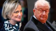 Koning Albert II geeft toe dat hij vader is van Delphine Boël