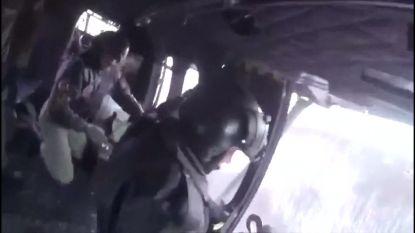 VIDEO. Spectaculaire reddingsactie: Turkse luchtmacht haalt 4 mensen met helikopter uit zware sneeuwstorm