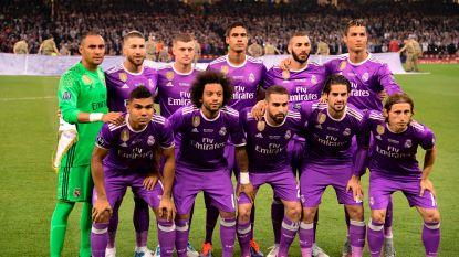 Real Madrid domineert 'Team van het Seizoen' van de Champions League