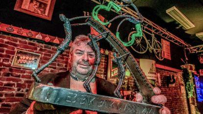 Kunstenaar Marc Vanhecke mag opnieuw trofee E3 leveren