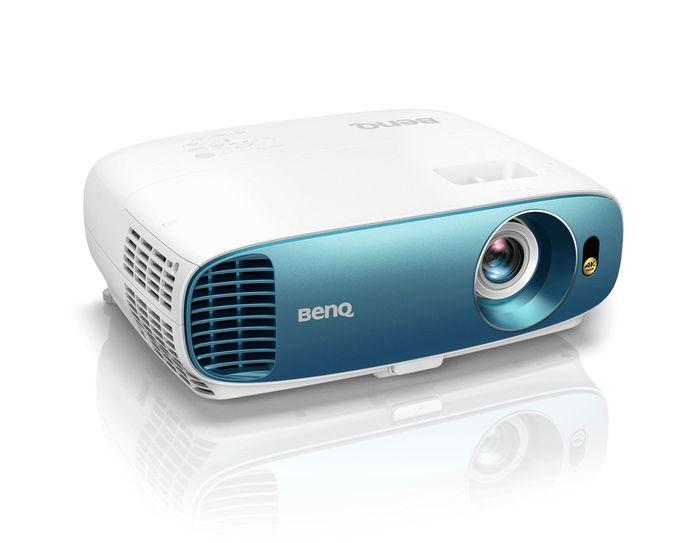 Deze Ultra HD (4K) beamer van BenQ is in staat om beeld te projecteren in de hoogste beeldkwaliteit.