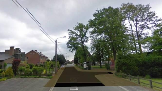 Verkeersplateau aan kapel besproken op eerste digitale bewonersbevraging