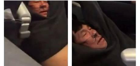 United Airlines schikt met weggesleepte passagier