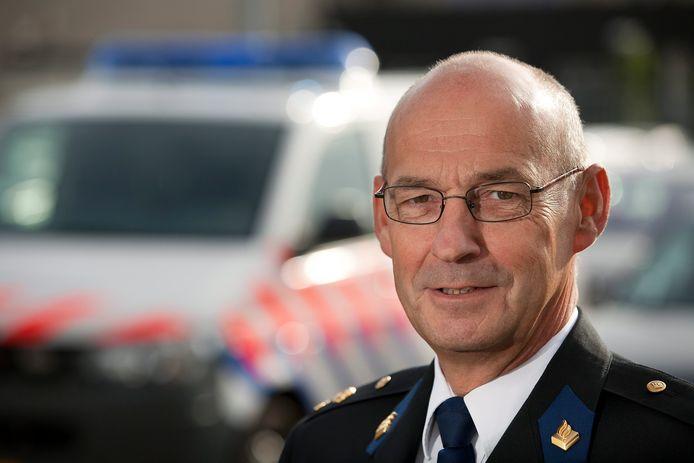 Hans Vissers is waarnemend politiechef van de eenheid Rotterdam.