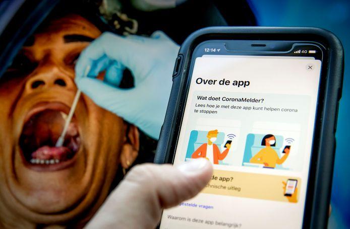 De nieuwe app CoronaMelder, werd zaterdag in Nijmegen officieel in gebruik genomen. In een etmaal werd de app 700.000 keer geïnstalleerd.