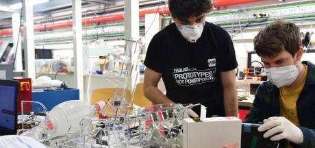 Beademingsapparatuur voor coronapatiënten aangedreven door ruitenwissermotoren van DAF