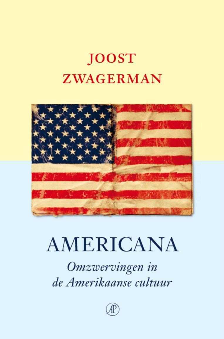 Joost Zwagerman: Americana. Omslag Ron van Roon. De Arbeiderspers, 2013. Beeld