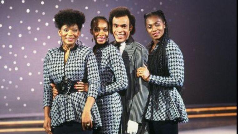 Boney M in 1988. ANP Beeld