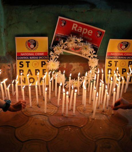 In brand gestoken Indiase vrouw overleden