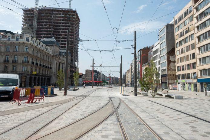 Het Operaplein in Antwerpen