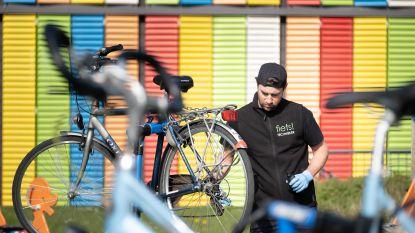 Fiets! herstelt tweewielers van zorgverleners woonzorgcentra