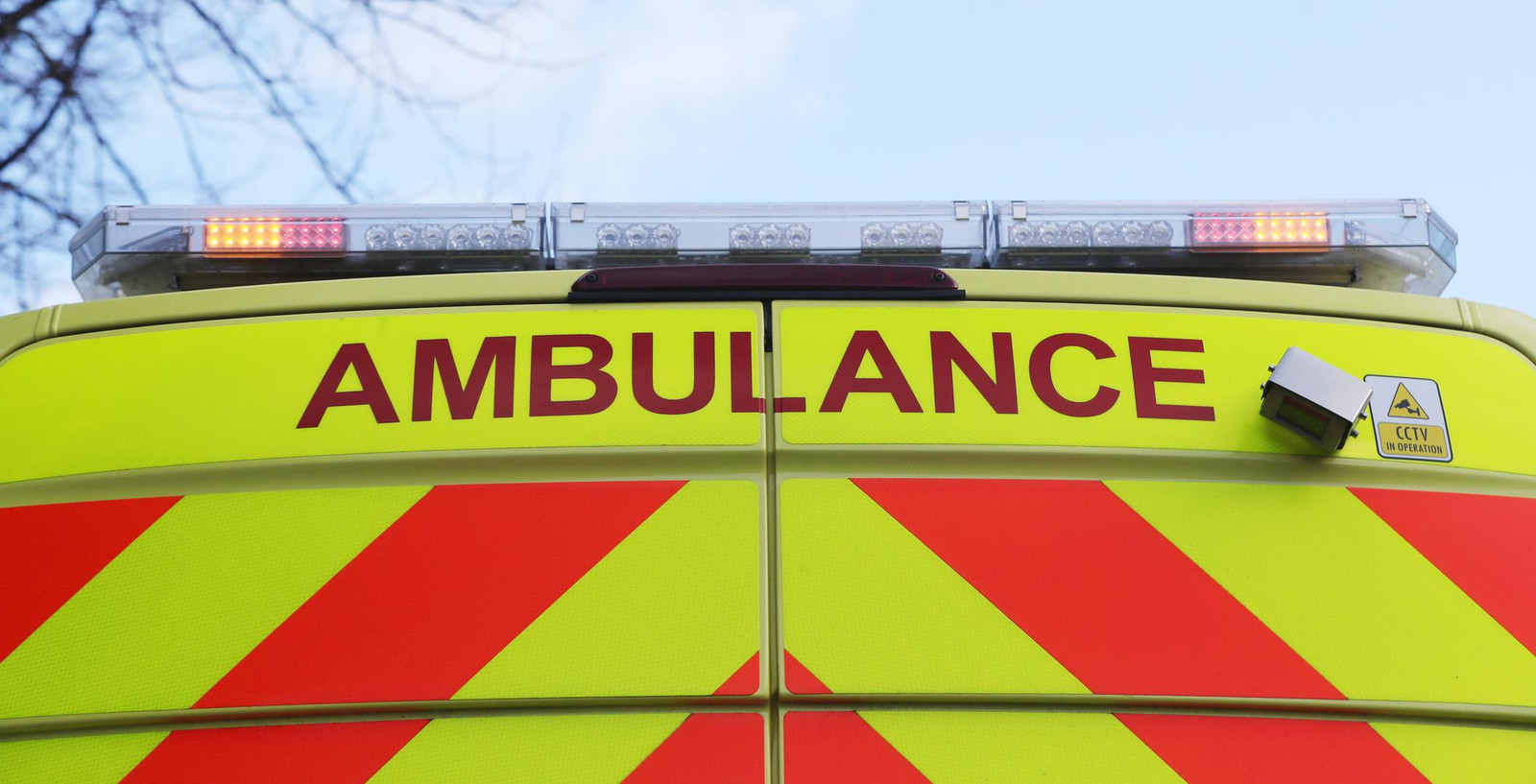 Emergency Services Stock. A stock picture of an Ambulance badge logo in Dublin. PRESS ASSOCIATION Photo. Picture date: Wednesday January 16, 2019. Photo credit should read: Niall Carson/PA Wire URN:40660692 + PHOTO NEWS / PICTURES NOT INCLUDED IN THE CONTRACTS  ! only BELGIUM !