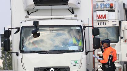 6 overtredingen bij controle vrachtverkeer