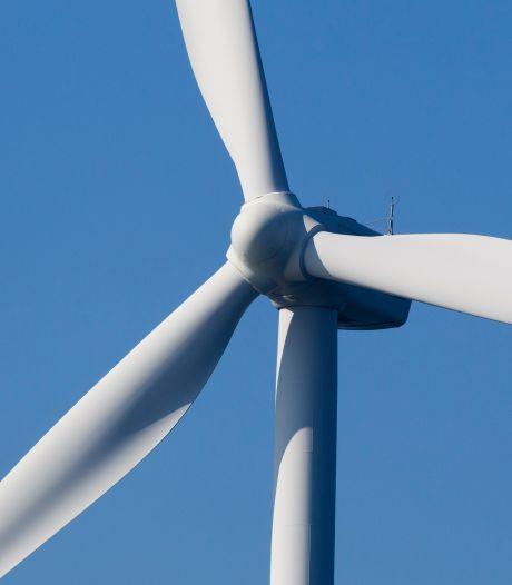 Brand in nieuwe windmolen Middelharnis onder controle