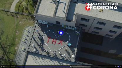 Ingelmunster wuifde massaal naar de drone van VTM en HLN. Haal de drone ook naar jouw gemeente!